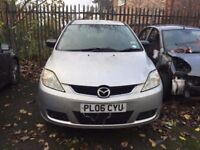 2005-2008 MAZDA5 MPV 7 SEATER, BREAKING FOR PARTS, ALL PANELS ARE AVAILABLE IN SILVER COLOUR