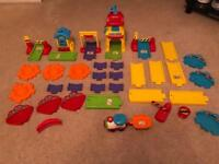 Vtech toot toot train & road bundle