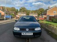 VOLKSWAGEN GOLF 1.9 TDI PD -WITH LONG MOT