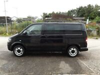 WV TRANSPORTER KOMBI 4MOTION TDI 180 BHP WITH 38650 MILES NO VAT