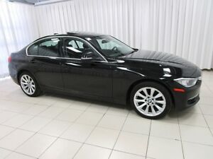 2014 BMW 3 Series 328i x-DRIVE w/ HEATED LEATHER, MOONROOF & NAV