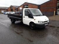 05 REG TRANSIT 350 LWB PICK UP/DROP SIDE ONE OWNER YEARS M.O.T £3250 NO V.A.T