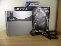 PlayStation 4 Batman: Arkham Knight Limited Edition 500 GB with 4 games PS4