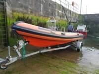 Humber rib boat