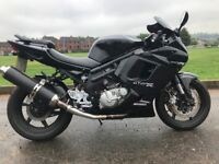 2008 HYOSUNG GT650R VERY CLEAN LOW MILAGE BIKE -LOW MILAGE 8824 -FINANCE AVAILABLE