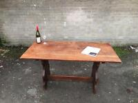 SOLID WOOD DINNING TABLE VINTAGE ERCOL STYLE FREE DELIVERY 🇬🇧