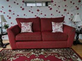 3 and 1 seater sofa