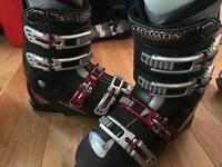 Salomon Performa ALU ski boots - size 27.0 uk 8