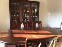 G Plan Mahogany Dining Table And Chairs