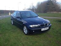 2004 BMW 318D ES AUTO 4 DOOR SALOON 2L DIESEL. Years MOT, 40-45 mpg