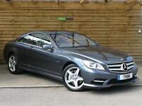 Mercedes-Benz CL 500 CGI BlueEFFICIENCY 2dr Auto STUNNING VEHICLE (flint grey metallic) 2011