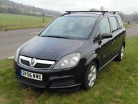 Brilliantly Serviced And Maintained 2007 Zafira B 7 Seater Wants For Nothing