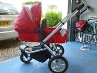 "Travel System from birth-toddler, with all ""bits"" included. My3 Mothercare. Good condition!"