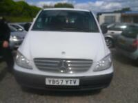 MERCEDES-BENZ VITO 115CDI 8-Seater MOT DECEMBER 2018 8 SEATER RECENT NEW TYRES AND BRAKES 2008
