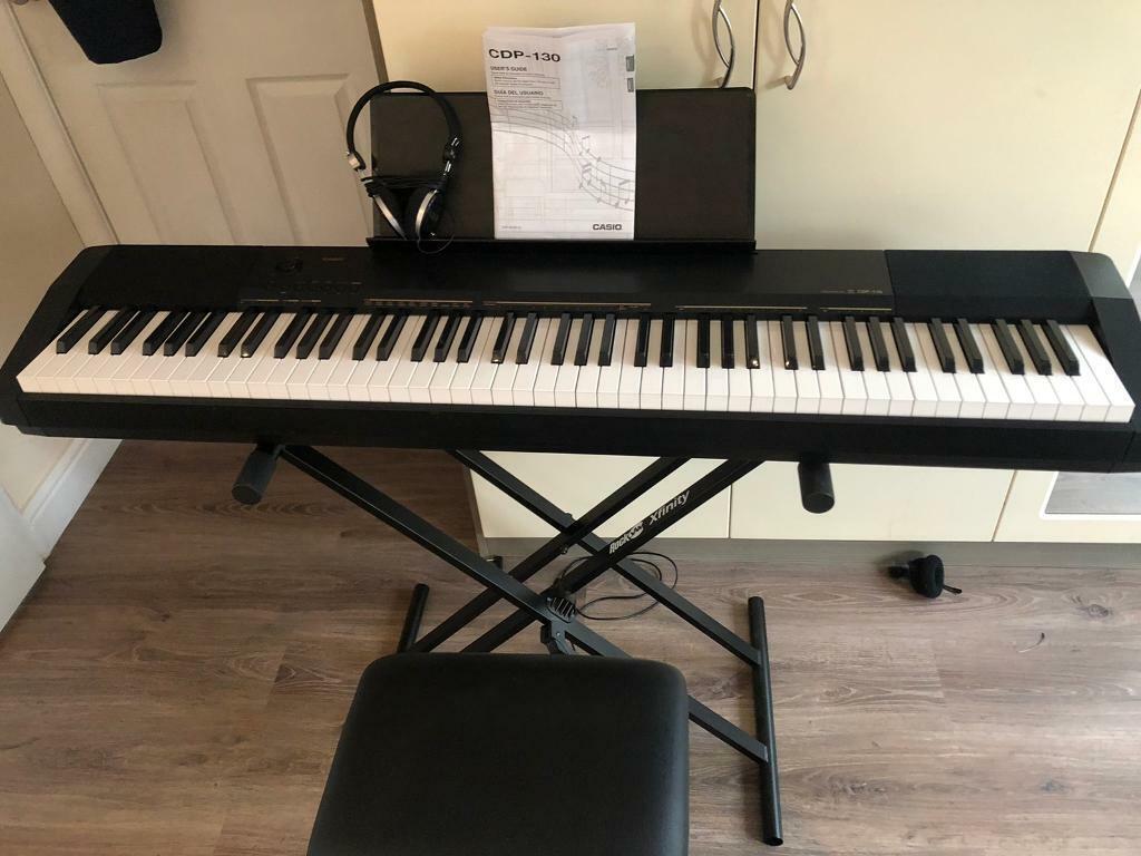 Casio CDP 130 - Digital Piano - 88 weighted keys