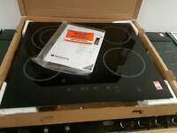 Hotpoint ceramic hob.12 months warranty
