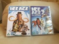 8 Children's Dvd's 2 ice age 2 transformers 2 Scooby Doo 2 Madagascar 1 is a 2 disc Dvd's