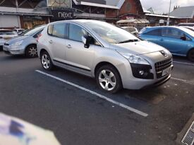 Peugeot 3008 Active HDI, 1.6L manual diesel turbo - Open to all offers! (Aiming for £6500ono)