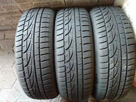 3 x Hankook 195/60 R16 89H winter tyres