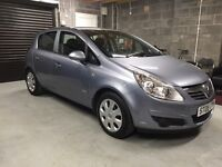 2008 Vauxhall Corsa 5dr 1.2 Club, Only 42k Miles, 1Year MOT, FSH, Serviced, Immaculate