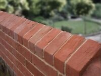 Triangular Coping | Soft Red Brick | Reclaimed style | Clay | 229 x 128 x 68mm