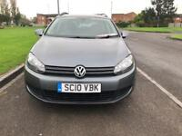 Volkswagen Golf 2010 1.6tdi Se blue motion estate