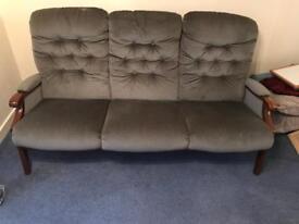 Lovely 3 Seater Sofa