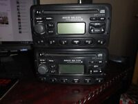 2 x Ford cd players