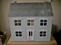 Large dolls house, beautifully decorated.