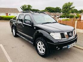 *2006* NISSAN NAVARA OUTLAW 2.5 DCI CREW CAB 4x4 PICK UP