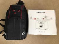 DJI Phantom 3 Standard + Manfrotto D1 Backpack worth £670!!