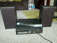 Panasonic Music Centre, Turntable, Cassette, Radio. Fully Working.