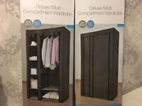 New Deluxe Large Wardrobe - storage shelf canvas