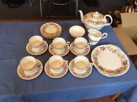 22 piece tea set