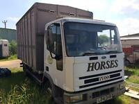IVECO-FORD Horsebox L,reg new mot