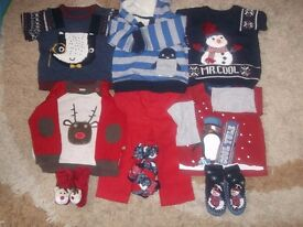 Winter bundle of baby boy clothes