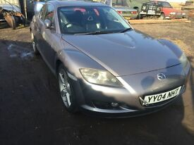 Mazda rx8 breaking for parts / spares
