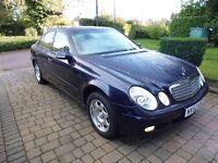 Mercedes E220 CDI Manual 2002