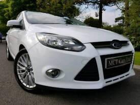 May 2013 Ford Focus 1.6 Tdci Zetec! Appearance Pack! Sat-Nav! Converse! Stunning Car! FSH! FINANCE!