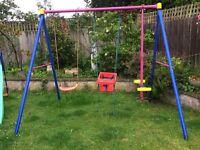 Swing/seesaw set