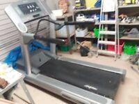 LifeFitness Angle Adjustable Treadmill for sale