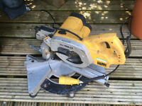 Dewalt DW707 compound Mitre saw