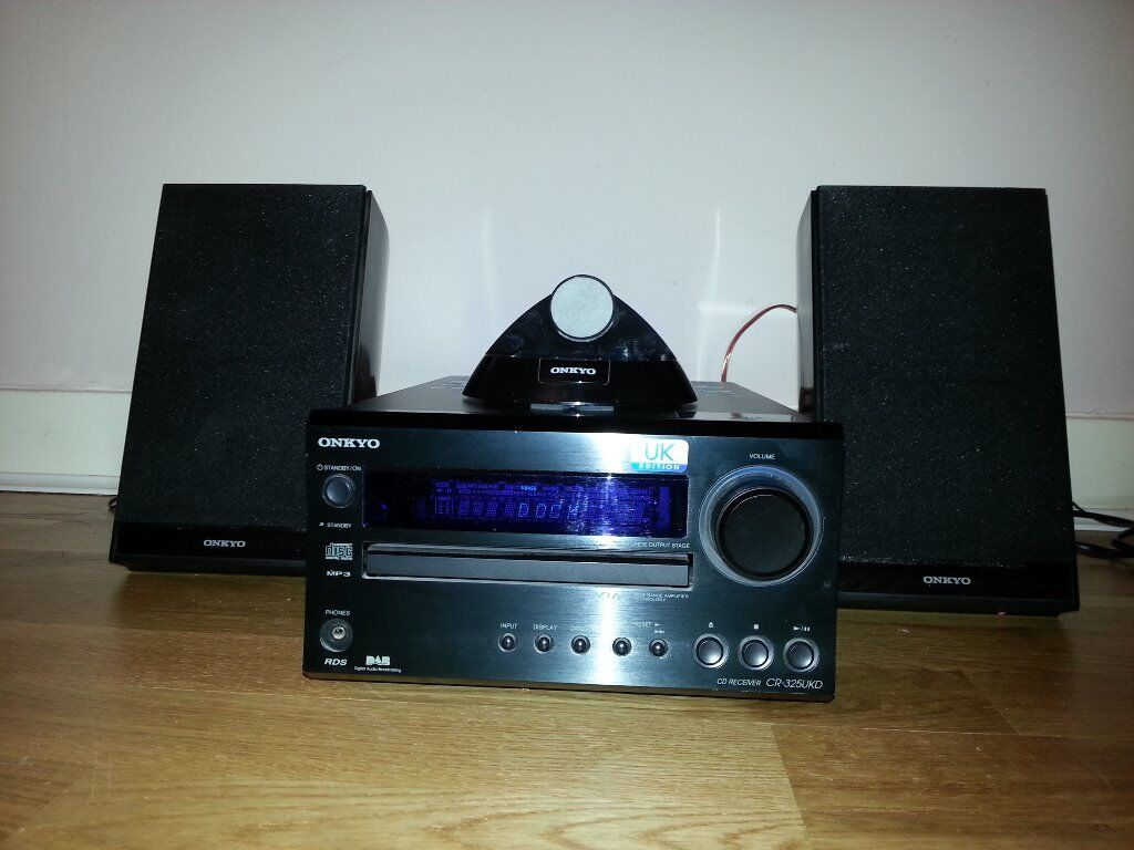onkyo bookshelf stereo system. onkyo cr325ukd - cd ipod dock stereo system bookshelf speakers sony panasonic