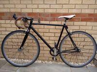 Viking road bike - single speed fixie (flip flop hub)
