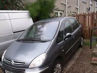 """""BARGAIN""""CITREON XSARA PICASSO 2007 DIESEL 1.7,PEOPLE CARRIER DUNDEE """"BARGAIN"""""
