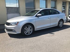 2015 Volkswagen Jetta Highline - 1,8 TSI NAVI LEATHER SEATS SUNR