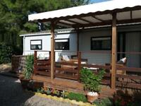 6 berth holiday home (static - south of france)
