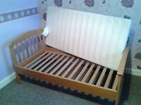 Pine Junior/Toddler Bed with Mattress