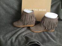 Shoe the bear Emmy fringe ankle boot