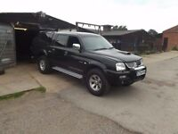 Mitsubishi l 200 warrior spares or repairs .